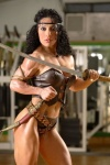 Girl with muscle - Federica Ortu