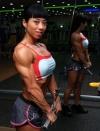 Girl with muscle - Mi Hee Yu