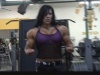 Girl with muscle - Laurie Steele