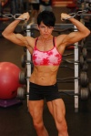 Girl with muscle - Kristin Moody Fonesca