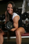 Girl with muscle - Sheila Bratten
