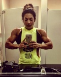 Girl with muscle - Savka Browneski