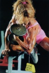 Girl with muscle - Laura Beaudry