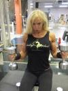 Girl with muscle - Jutta Gustafsberg