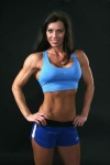 Girl with muscle - Angie Reinke/Angie Thompson