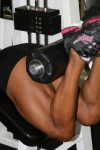 Girl with muscle - Arlin Rodriguez