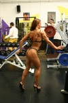 Girl with muscle - lanah evers