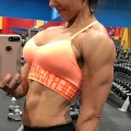Girl with muscle - Julie Boley