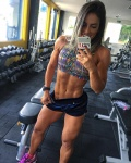 Girl with muscle - Aline Antiqueira