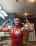 Girl with muscle - Ashlynn Richardson