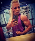 Girl with muscle - Alexandra Belasco