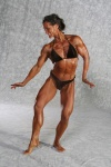 Girl with muscle - Kim Landry-Ayres