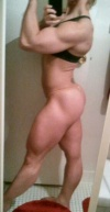 Girl with muscle - cynthia colon