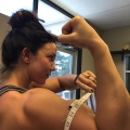 Girl with muscle - brittany jenkins