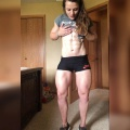 Girl with muscle - Kelsey Horton