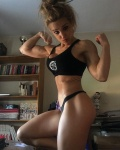 Girl with muscle - Nerea Salazar
