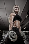 Girl with muscle - Nina Furseth