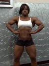 Girl with muscle - Patricia Houston