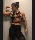 Girl with muscle - Alyssa Damiano