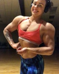 Girl with muscle - Chelsea Kline