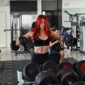 Girl with muscle - helena (helena.fitness)