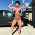 Girl with muscle - dana williams