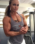 Girl with muscle - Angelica Enberg