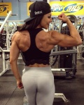 Girl with muscle - Mary Valid