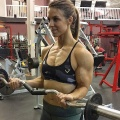 Girl with muscle - Nikkiey Stott