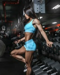 Girl with muscle - Mikella Dragna