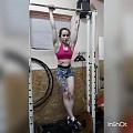 Girl with muscle - Anastasia Novocheboksarsk