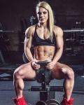 Girl with muscle - Kennedy Ledgerwood