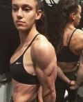 Girl with muscle - Faith Powell