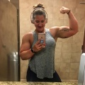 Girl with muscle - Courtney Mitten