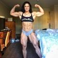 Girl with muscle - Kristina Nicole Mendoza