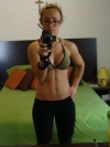 Girl with muscle - marychut@bodyspace