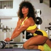 Girl with muscle - Patricia David