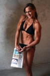 Girl with muscle - heather leff