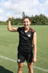 Girl with muscle - Alex Morgan