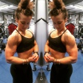 Girl with muscle - Chloe Pickford