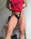 Girl with muscle - Daniela Guerrero