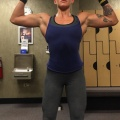 Girl with muscle - lexa stahl