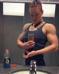 Girl with muscle - Jordan Hartsell