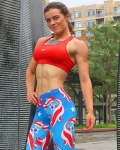 Girl with muscle - Caitlin Corcoran