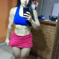 Girl with muscle - Claudiene Teles