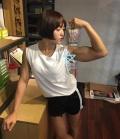 Girl with muscle - Yun-Ji Lee