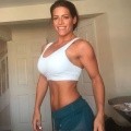 Girl with muscle - Lucy West