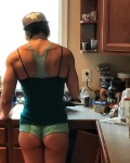 Girl with muscle - Ashley Dishman
