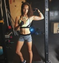 Girl with muscle - Natalia Geronin