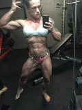 Girl with muscle - monstress (herbicepscam)